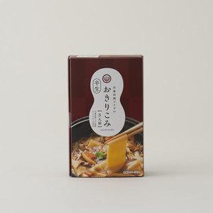 川場田園プラザのおきりこみ(半生うどん)