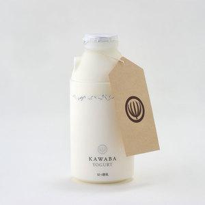 KAWABA YOGURT のむプレミアムヨーグルト (12本)