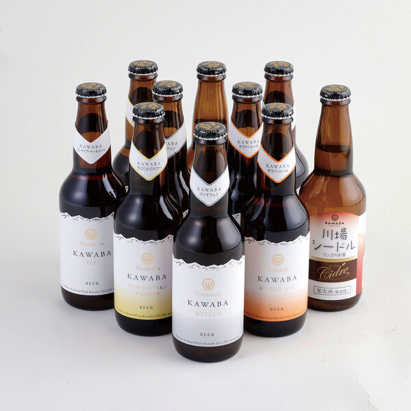 川場ビール&シードル10本詰め合わせセットの商品イメージ-322